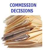 Commission Decisions